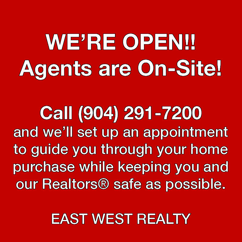 We are open agents are on-site overlay